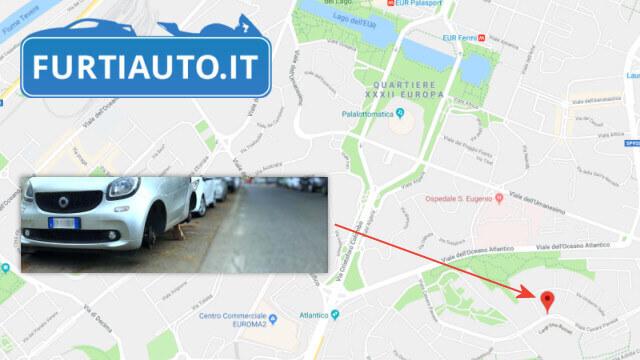 Furti Auto in Viale Cesare Pavese Roma EUR