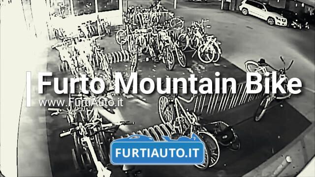 Furto Mountain Bike da oltre 1.500$ – Security Cam