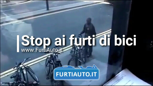 Stop ai furti di biciclette – London Police